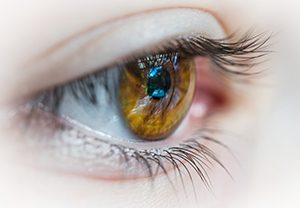 Your cornea can be injured or infected.